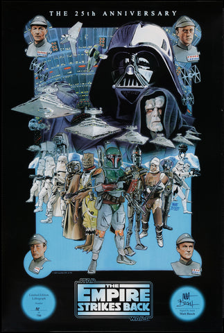 Star Wars - Episode V - The Empire Strikes Back - 25th Anniversary - A4 Movie Mini Print
