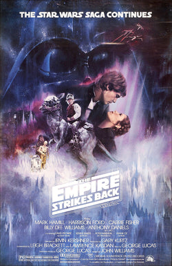 Star Wars - Episode V - The Empire Strikes Back - A4 Movie Mini Print A