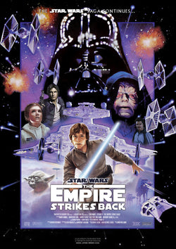 Star Wars - Episode V - The Empire Strikes Back - A4 Movie Mini Print B
