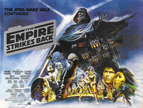 Star Wars - Episode V - The Empire Strikes Back - A4 Movie Mini Print C