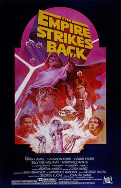 Star Wars - Episode V - The Empire Strikes Back - A4 Movie Mini Print D