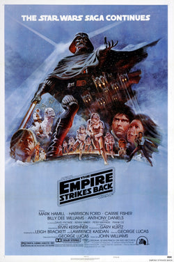 Star Wars - Episode V - The Empire Strikes Back - A4 Movie Mini Print E