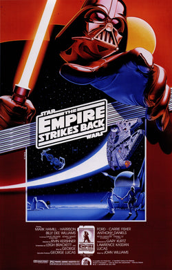 Star Wars - Episode V - The Empire Strikes Back - A4 Movie Mini Print F