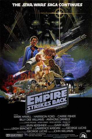Star Wars - Episode V - The Empire Strikes Back - A4 Movie Mini Print G