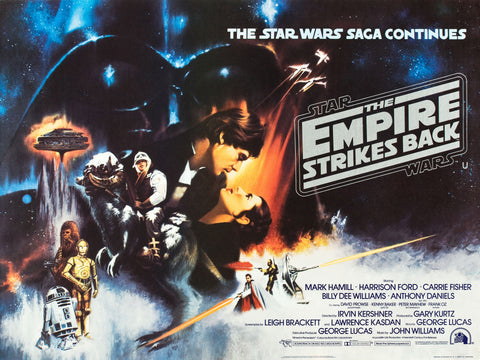 Star Wars - Episode V - The Empire Strikes Back - A4 Movie Mini Print I