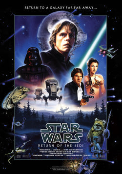 Star Wars - Episode VI - Return of the Jedi - A4 Movie Mini Print B