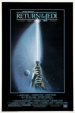 Star Wars - Episode VI - Return of the Jedi - A4 Movie Mini Print C