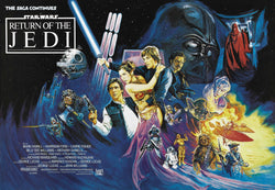 Star Wars - Episode VI - Return of the Jedi - A4 Movie Mini Print D