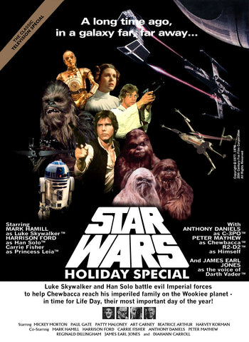 Star Wars - Holiday Special - A4 Movie Mini Print