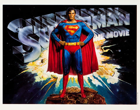 Superman The Movie - A4 Movie Mini Print A