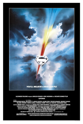 Superman The Movie - A4 Movie Mini Print B