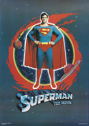Superman The Movie - A4 Movie Mini Print C