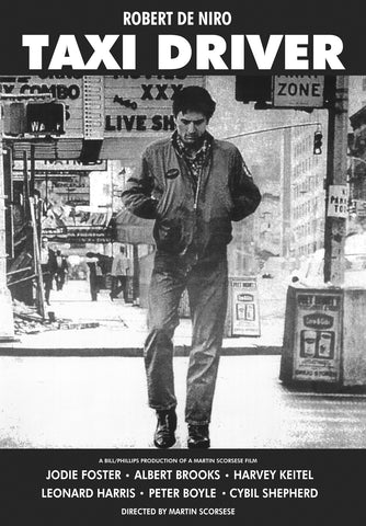 Taxi Driver - Robert De Niro - A4 Movie Mini Print B