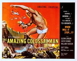 The Amazing Colossal Man - 50s B-Movie Classic - A4 Vintage Print B