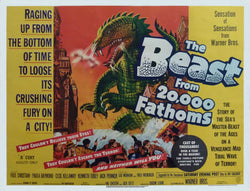 The Beast from 20000 Fathoms - 50s B-Movie Classic - A4 Vintage Print C