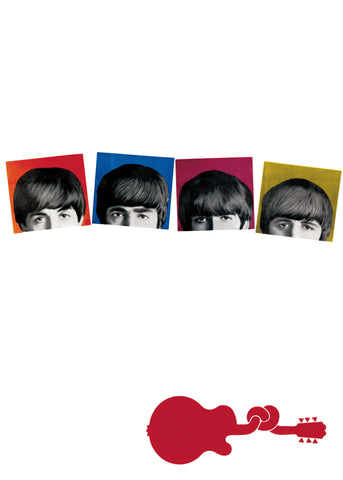 The Beatles - A Hard Day's Night - A4 Music Mini Print B