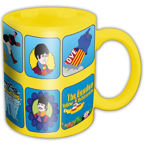 The Beatles - Yellow Submarine Characters - Mug