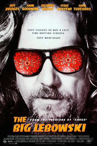 The Big Lebowski - A4 Movie Mini Print A