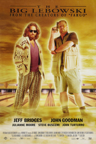 The Big Lebowski - A4 Movie Mini Print C