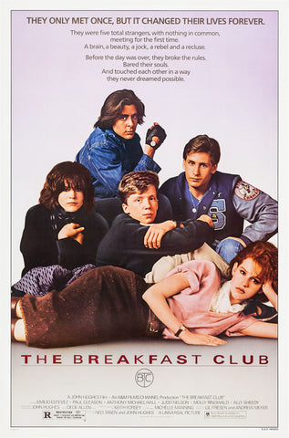 The Breakfast Club - A4 Movie Mini Print