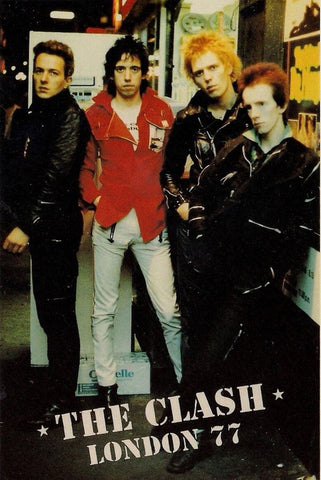 The Clash - London 77 - A4 Music Mini Print