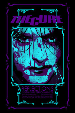 The Cure - Reflections 2011 - A4 Music Mini Print