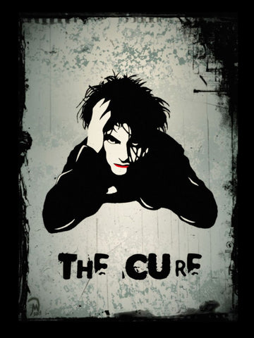 The Cure - Robert Smith - A4 Music Mini Print