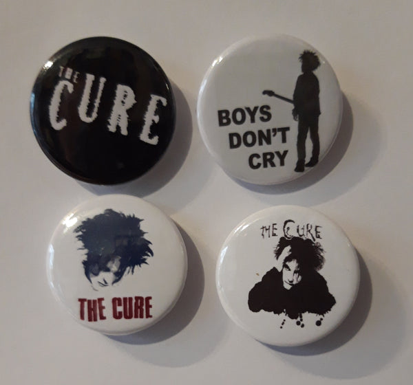 The Cure - Set of 4 Badges