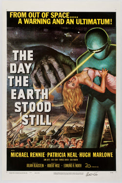 The Day the Earth Stood Still - 50s B-Movie Classic - A4 Vintage Print A