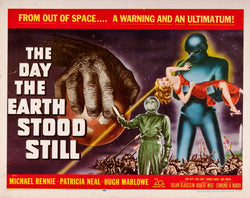 The Day the Earth Stood Still - 50s B-Movie Classic - A4 Vintage Print B