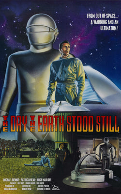 The Day the Earth Stood Still - 50s B-Movie Classic - A4 Vintage Print C