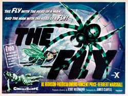The Fly - 50s B-Movie Classic - A4 Vintage Print B
