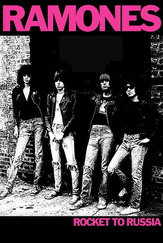 The Ramones - Rocket to Russia - A4 Music Mini Print