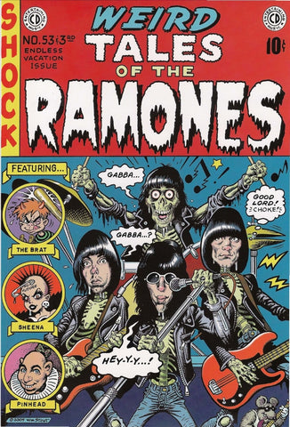 The Ramones - Tales from the Ramones - A4 Music Mini Print