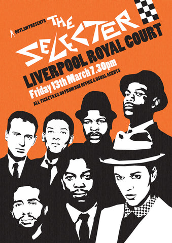 The Selecter - Liverpool Royal Court - A4 Music Mini Print