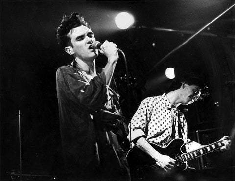 The Smiths - On Stage - A4 Music Mini Print