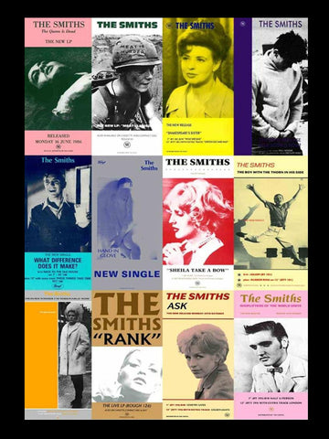 The Smiths - Posters - A4 Music Mini Print