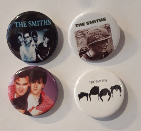 The Smiths - Set of 4 Badges