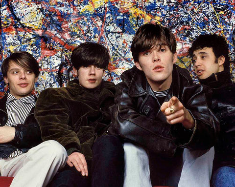 The Stone Roses - Group - A4 Music Mini Print B