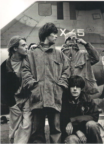 The Stone Roses - Group - A4 Music Mini Print C