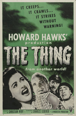 The Thing From Another World - 50s B-Movie Classic - A4 Vintage Print A