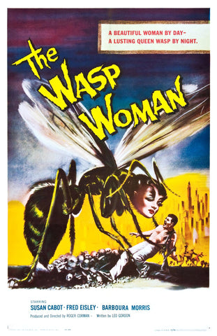 The Wasp Woman - 50s B-Movie Classic - A4 Vintage Print A