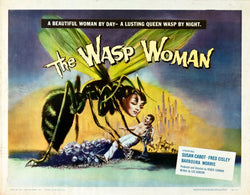 The Wasp Woman - 50s B-Movie Classic - A4 Vintage Print B