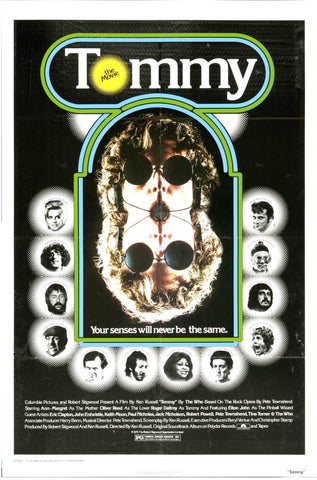 The Who - Tommy The Movie - A4 Music Mini Print B