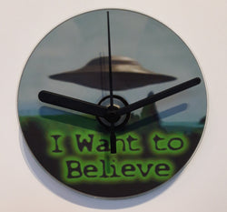 The X-Files - I Want to Believe - Cd Clock