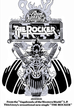 Thin Lizzy - The Rocker - A4 Mini Print