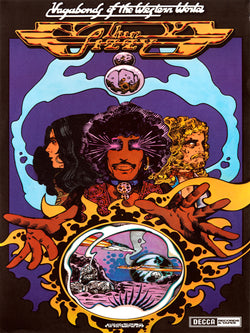 Thin Lizzy - Vagabonds of the Western World - A4 Mini Print