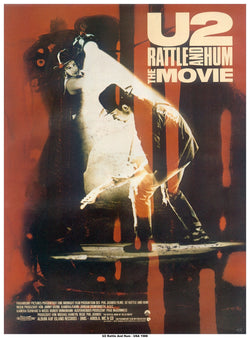 U2 - Rattle and Hum - A4 Mini Print B
