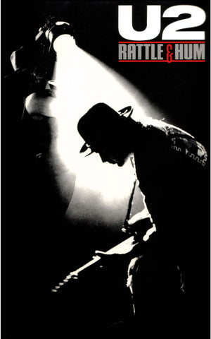 U2 - Rattle and Hum - A4 Music Mini Print C