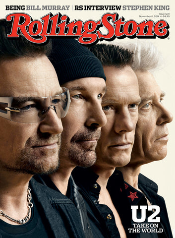 U2 - Rolling Stone Cover - November 2014 - A4 Music Mini Print